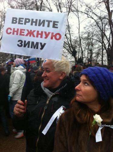 pele.dirty.ru, Авторские плакаты с митингов по России